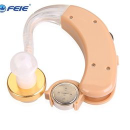 Wholesale Hearing Aid Voice Amplifier - top selling products 2016 China Cheap Analogue BTE Feie Hearing Aids Portable Mini Voice Amplifier S-520 Free Dropshipping