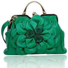 Wholesale Cheap Designer Totes - flower pattern women tote bag cheap price 2017 new high quality fashion women handbags luxury designer
