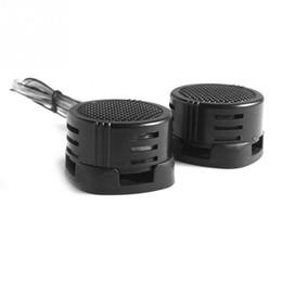 Wholesale Power Sound Audio - 2pcs High Efficiency Universal 2x 500W Car Dome Tweeter Loudspeaker Loud Speaker Super Power Audio Auto Sound Klaxon Tone