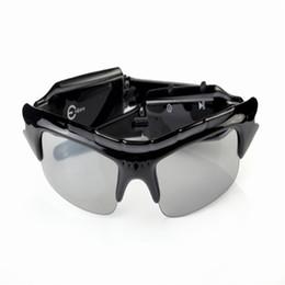Wholesale Mobile Hot Videos - 2017 Hot sale SunGlasses Camera DV DVR Hidden Recorder Video Camera Spy Sunglasses Camera Mobile Eyewear