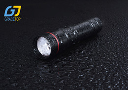 Wholesale Mini Chain Pen - Zoom mini LED Flashlight 600 Lumen Water Resistant Camping mini Pen Light Torch 3 Light Modes Support AAA 14500 Battery