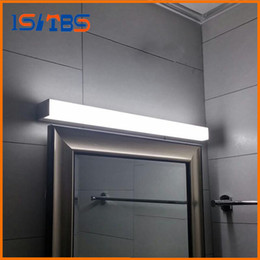 Wholesale Mirror Light Led 7w - Modern led mirror light 7W 8W 10W waterproof wall lamp fixture AC110V 220V Acrylic wall mounted bathroom lighting
