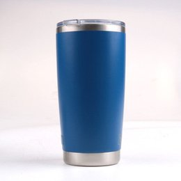 Wholesale Coloured Mugs Wholesale - IN STOCK!! DHL fast free ship ! 20oz stainless steel mugs for yeti style cups 8 colours top quality with best price