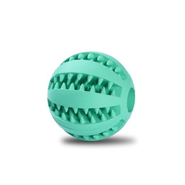 Wholesale 2 Inch Rubber Balls Pet Dog Toys Ball cm Chew Toys Tooth Cleaning Balls Food Toy Ball for Dogs