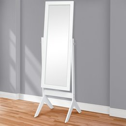 Wholesale Flooring Products - Best Choice Products Cheval Floor Mirror Bedroom Home Furniture- White