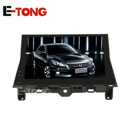 Wholesale Car Navigation 2din - 2DIN Android Car Video GPS Navigation DVD Playe with Capacitance Touch Screen WIFI Mirror link For Honda Accord 8 2008-2012
