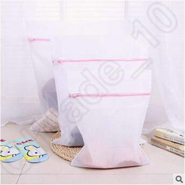 Wholesale 3 Size Washing Machine Specialized Underwear Washing Bag Mesh Bag Bra Washing Laundry Underpants Care Wash Net Laundry Bag CCA4975