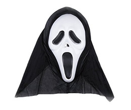 Wholesale Christmas Costume Cheap - In Stock Cheap Hot Sale Scary Halloween Mask for Children and Adult, Scream Fan Costume Party Props