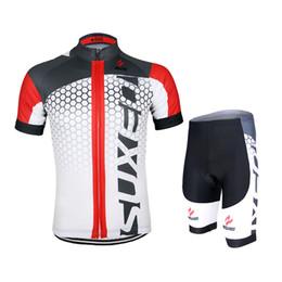 Wholesale Mountain Bike Kit - Red cycling jerseys kit 2016 Mens Cycling Short Sleeves Jersey Mountain Bike Bicycle Sets MTB Shirts Wear