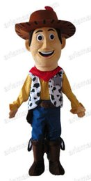 Wholesale Toy Story Cartoon Characters Costumes - AM0462 Toy Story Character Cowboy Woody Mascot costume Cartoon mascot party costumes EVA foam mascot fur mascot advertising