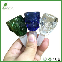 Wholesale glasses broken - Smoking Bowls Breaking Bad Walter White Glass Bowl With 14mm 18mm Male Joint Mr White Colorful Glass Bowls for Glass Bong Water Pipe