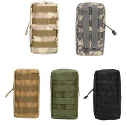 Wholesale Wholesales Magazine Bag - Molle Tactical Magazine Dump Drop Pouch Military Vest Outdoor First Aid Bag 1Pcs Inside Of The Waterproof Coating