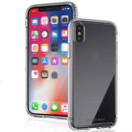 Wholesale Iphone Cases Pure - For iPhone X Tec 21 Transparent Pure Clear Crystal TPU Case Cover Lightweight Shockproof Tec21 Impact Shield with Retailpackage