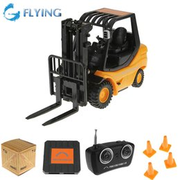 Wholesale Toy Forklift Remote - Wholesale-Mini RC Toy Forklift Radio Remote Control Truck Car
