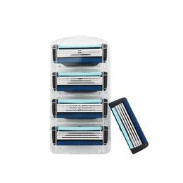 Wholesale Wholesale Razors Blades - New 2017 Cheap wholesale Sharp Shave Razor High Quality Men's Razor Blades 4-layer manual razor blade for men