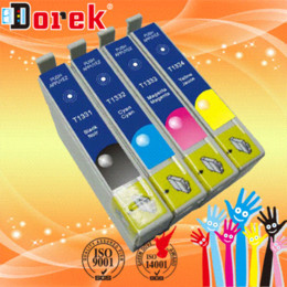 Wholesale Epson T25 - 20pcs lot for Epson 133 ink cartridges T1331-T1334 for EPSON STYLUS NX420 T22 T25 TX120 TX420W WORKFORCE 320 Free shipping cartridge pen