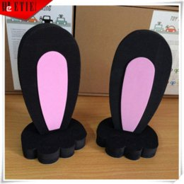 Wholesale Mini Roof Sticker - 2015 ETIE Roof 3D Rabbit Ears Key Hello Kitty Decal Audi Car Accessories VW Modified Adhesive MINI Cars Wrap Automobiles Sticker