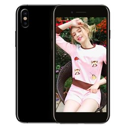 Wholesale Ips 3g Hd - Goophone i8 Dual Back Camera 3G WCDMA Quad Core MTK6580 1.2GHz 1GB 8GB Android 6.0 GPS WiFi 5.0 inch IPS 1280*720 HD Metal Body Smartphone