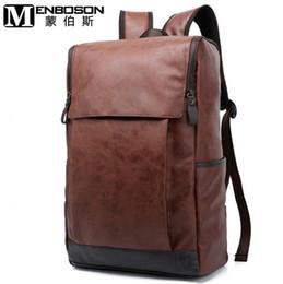 Wholesale Top Selling School Backpacks - Factory direct selling brand mens bag fashion waterproof wearable large capacity mens backpack top grade Pu casual brand school bag