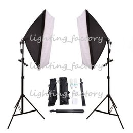 """Wholesale Photography Led Light New - New Arrival !Free """"Tax To Russia"""" 100-240V 300W Photo Studio photography lighting Continuous Photography Light + softbox + light stand"""