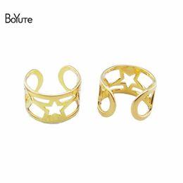 Wholesale Ear Cuffs For Sale - BoYuTe (50 Pieces Lot)HOT Sale Wholesale Fashion Hollow Out Heart Ear Cuff Earrings Jewelry for Women