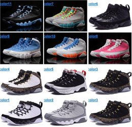 Wholesale Hot Pink Boots For Women - Free shipping cut NO.9 women basketball shoes Factory outlet sport boot Hot selling MID sneaker for lady