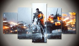 Wholesale Battlefield Poster - Battlefield Painting on canvas living room decoration pictures print poster picture canvas artwork painted with frame