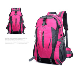 Wholesale Waterproof Canvas Rucksack - Wholesale High Quality Waterproof Women&Men Travel Backpack Outdoor Mountain Camping Nylon Mochilas Fashion Climbing Hiking Rucksack