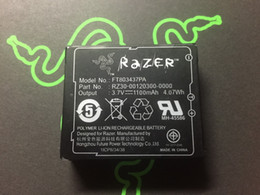 Wholesale Old Republic - Original brand new Razer 3.7V 1100mah battery FT803437P for Raser Mamba Naga Old Republic mouse rechargeable Battery