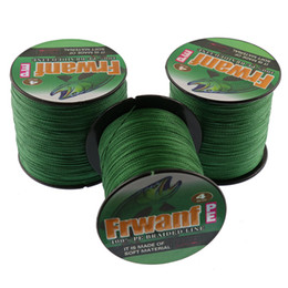 Wholesale Green Lake - Frwanf super pe braided line best fishing tackle online store 500M fishing tools wholesale 6-100LB 4x fishing thickness
