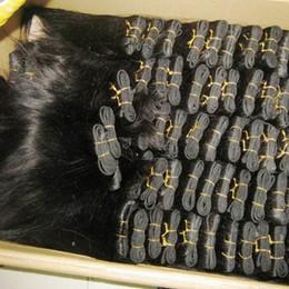 20 Пучков / лот Оптовая прайс-лист прямо обработанные перуанские пучки человеческих волос Warhouse Clearance 2019 HOT от