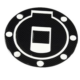 Wholesale Sticker R6 - Universal Motorcycle Carbon Fiber Tank Pad Tankpad Protector Sticker Cover 1pcs R6 Z600 Z800 Z1000 Free Shipping
