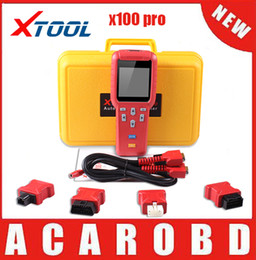 Wholesale Mitsubishi Immobilizer - 100% Original XTOOL X100 pro X100+ key programmer X100 auto key programmer immobilizer programming tool x100 Updated Version