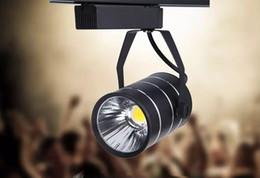 Wholesale Track Light 9w - COB, LED track lights, spotlights wholesale, 9W 12W clothing store, shopping malls, lighting, warm, cold, white + CE, UL, SAA LLFA