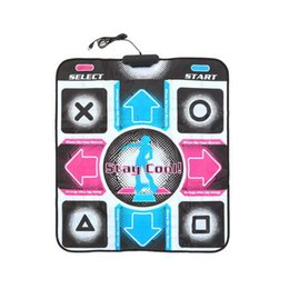 Wholesale Dance Feet - With English Song HD Non-Slip Dancing Step Dance Mat Pad Pads Dancer Blanket Fitness Equipment Revolution Foot Print Mat to PC with USB New