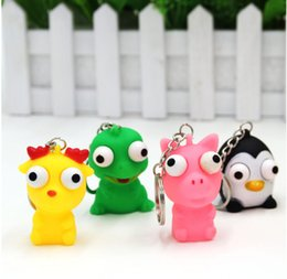 Wholesale Pink Eye Photos - Christmas gift Big eyes smiling eyes crowded doll monster college vent funny funny toys cartoon cartoon dolls