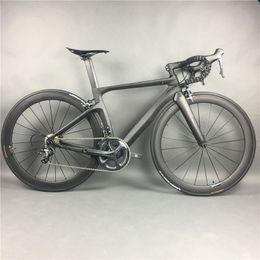 2019 komplette kohlenstoffstraße Komplette Carbon-Rennrad-Radfahren, T800 Carbono Fiber Frameset, R36 Carbon-Räder, SHiMANO 3500/4700/5800 / R8000 / 9100 günstig komplette kohlenstoffstraße
