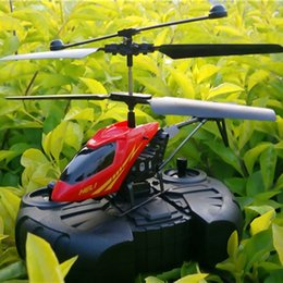 Wholesale Micro Metal Rc Helicopter - 2CH Mini rc helicopter Radio Remote Control Aircraft Helicoptero Electric Micro 2 Channel Helicopters toys