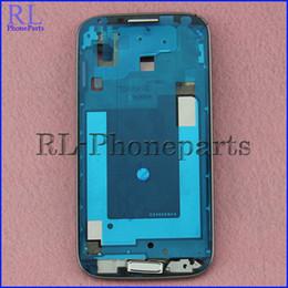 10pcs / lot Pour Samsung Galaxy S I337 M919 Cadre LCD Véritable + Nouveau Logement Avant Cadre Cadre Lunette Plaque + Bouton Accueil ? partir de fabricateur