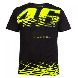Wholesale Mens Sport T Shirts - Valentino Rossi VR46 Mens' T-Shirt The Doctor MotoGP 46 Motor Sports T-shirt