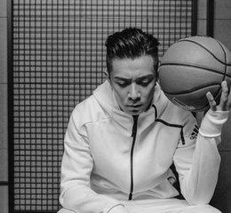 Wholesale Thin Plaid - 2018 Europa giapponese ZNE felpa con cappuccio Pullover da uomo solido di colore uomini felpe con cappuccio casuale Side Zipper Mensports ve