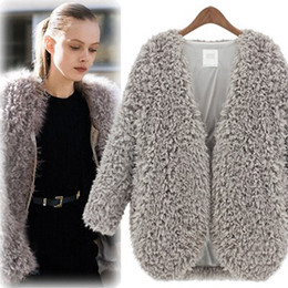 long sleeve cropped cardigan sweater Promo Codes - Wholesale-2016 New Fall Women Cardigans Jacket Winter Fashion Cashmere Sweaters Top Quality Cardigan Female Slim Knitted Crop Poncho S-XL