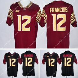 Wholesale Uniform Logo Embroidery - NWT Style Wholesale FSU 4# Dalvin Cook Men's Jersey #12 Deondre Francois America College Football Embroidery Logos Stitched Jerseys Uniforms