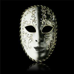 2019 gummi witze Halloween-Tanz Antike Clown Gesichtsmaske von Yin und Yang-Tanzparty-Dekoration High Grade Malerei Maske Kunststoff Material