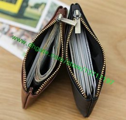 Wholesale Short Black Leather Coats Women - Top Grade Canvas Coated Real Leather Lady Key Pouch Fashion Designer N62659 N62658 M62650 Women Key Coin Wallet