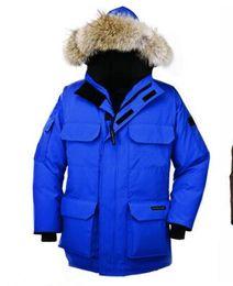 Wholesale Kodiak Jacket - 2017 Hot Sale Luxury Parajumpers men's kodiak down Jacket Hoodies Fur Fashionable Winter Coats Warm Parka Free shipping