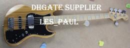 Custom Nature Marcus Miller Signature 5 cuerdas Jazz Bass Guitarra Eléctrica Dos cajas traseras 9V Batter Active Pickups String Thru Body desde fabricantes