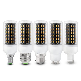 Wholesale E14 Led Cob Corn Bulb - E27 E14 G9 GU10 Led Spot Lights 12W 18W 25W 30W 35W SMD4014 Led Bulbs Corn Lights AC 85-265V