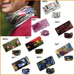 Wholesale Cheap Bike Masks - Cycling Mask Bandana Bike Magic Women Men Headband Head Scarf Women Female Set Neckerchief Kerchief Cheap Neck Scarves Headwear