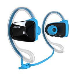 Wholesale Professional Ear Headphones - Jabees BEATING Professional Sports Waterproof Bluetooth 4.1 Headset Ear Buds Stereo Wireless Earphone Music Headphone 4 Colors Optiona